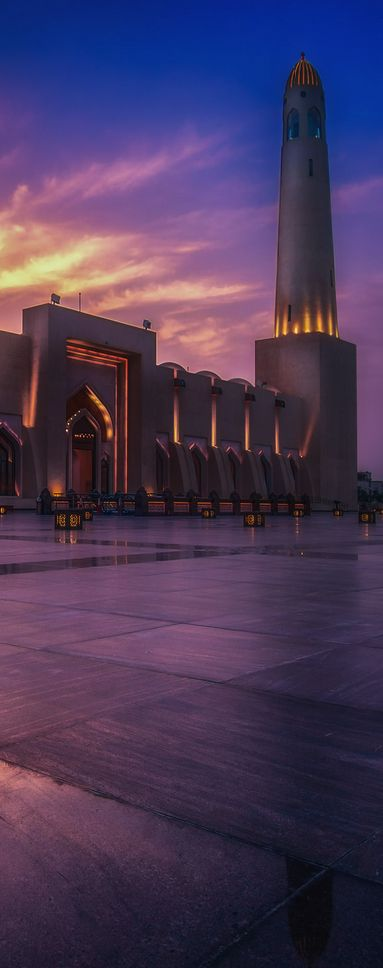 17 best images about qatar mosques on pinterest for Architecture qatar