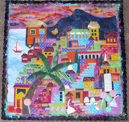 82 best Happy Village Quilts images on Pinterest | House quilts ... : village quilt - Adamdwight.com