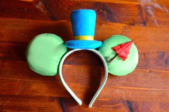 Jiminy Cricket Inspired Ears by TheFairyGodsisters on Etsy