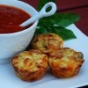Easy Pepperoni Pizza Puffs | RecipeLion.com...my kids would eat like 10 of these :)