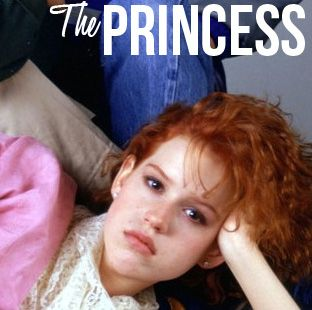 """surprise surprise; i got the princess 