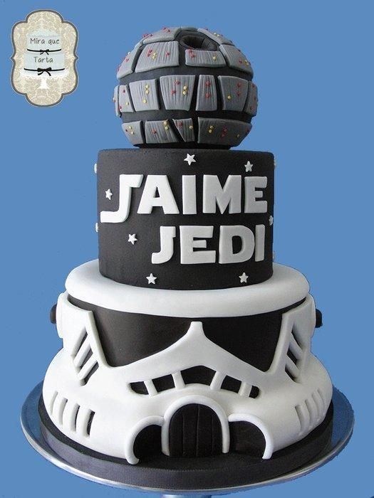 1036 best Star Wars Star Trek Cakes images on Pinterest Petit