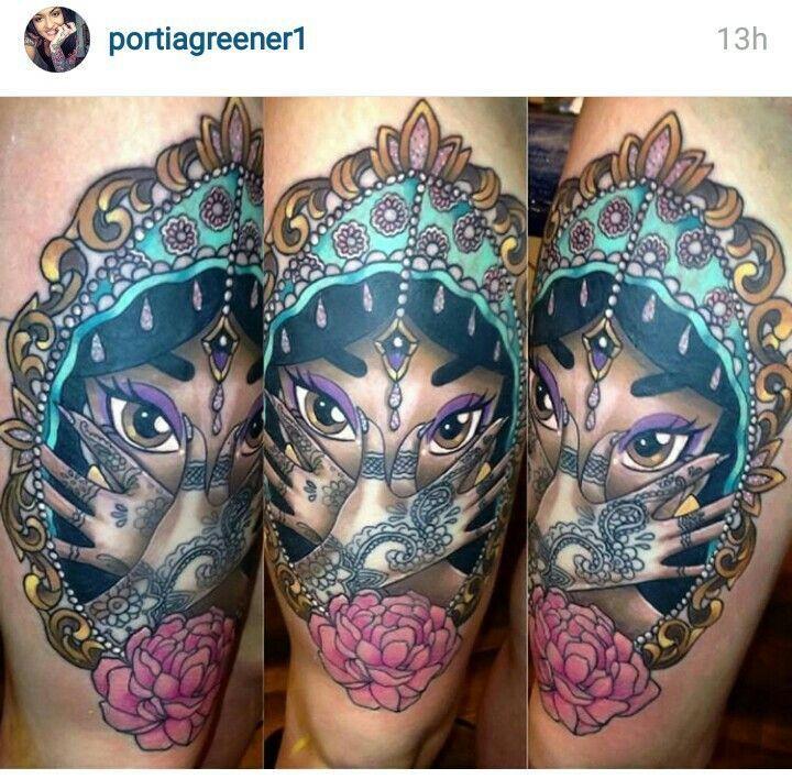 720 708 tat ideas for Princesas disney tattoo