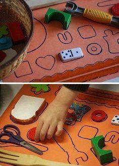 Dikkat ve el göz koordinasyonunu geliştiren eğitici oyuncaklar - Okul Öncesi Eğitici Oyuncak Yapımı