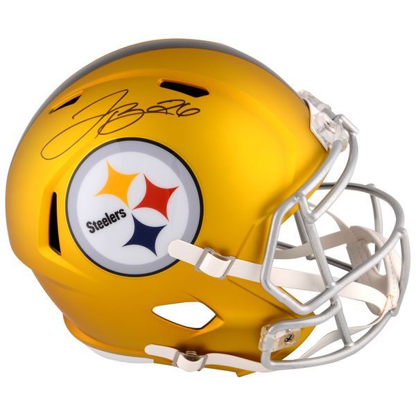 Le'Veon Bell Pittsburgh Steelers Fanatics Authentic Autographed Riddell BLAZE Speed Replica Helmet - $299.99