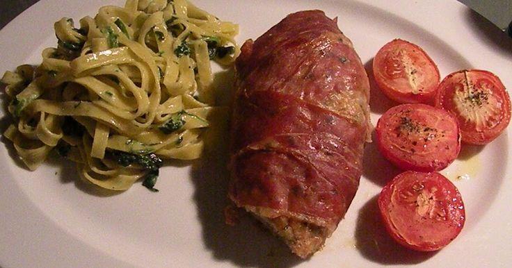 Menuen er til to personer 2 stk. kyllingebryst krydres med salt peber paprika og ristes på panden 250 gr. hakket kyllingekød krydres med ...