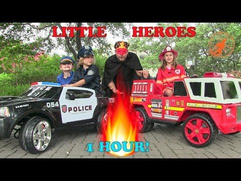 Fireman Sam Surprise Toys Collection Opening! Fire Engine Truck for Kids Rescue Spiderman - YouTube