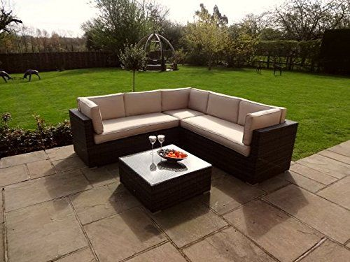 Maze Rattan Porto Corner Sofa Set   Brown   Luxury Garden. 2275 best Rattan Furniture Sets images on Pinterest   Furniture