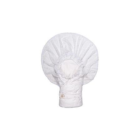 """Сонный гномик Конверт-одеяло на выписку """"Малютка"""", Сонный гномик, белый  — 2539р.  Конверт-одеяло на выписку """"Малютка"""", Сонный гномик, белый - отличный вариант для торжественного события выписки малыша из роддома. Конверт-одеяло «Малютка» прекрасно подойдет для выписки новорожденного из роддома. В дальнейшем его можно использовать во время прогулок с малышом в коляске-люльке или в качестве удобного коврика для пеленания. Конверт изготовлен из 100% хлопка на хлопковой подкладке - мягкая ткань…"""