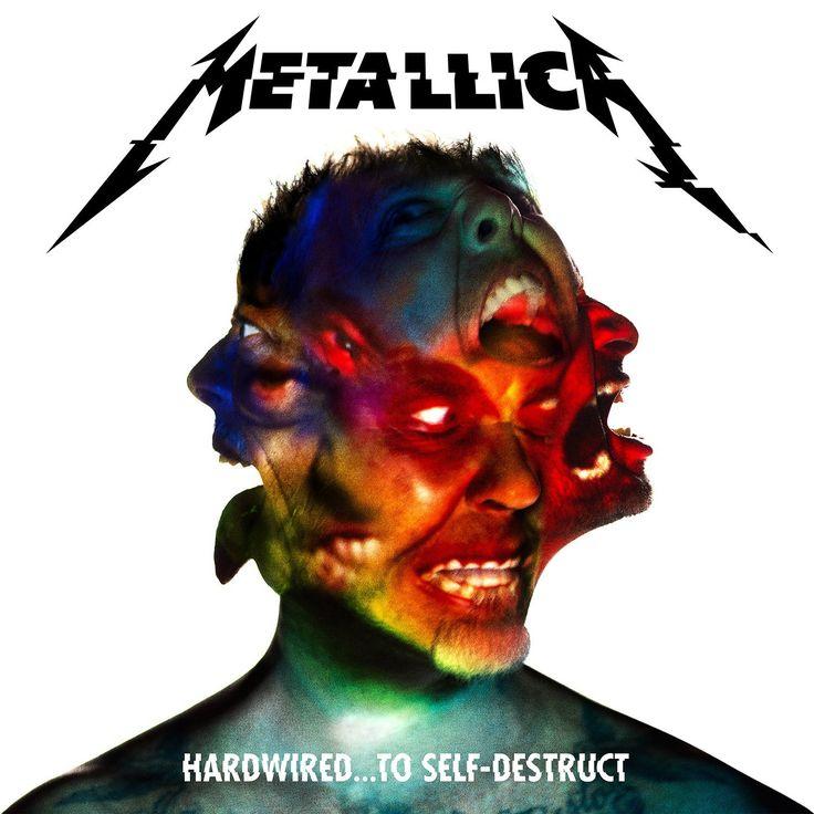 HARDWIRED...TO SELF DESTRUCT Metallica Album Cover