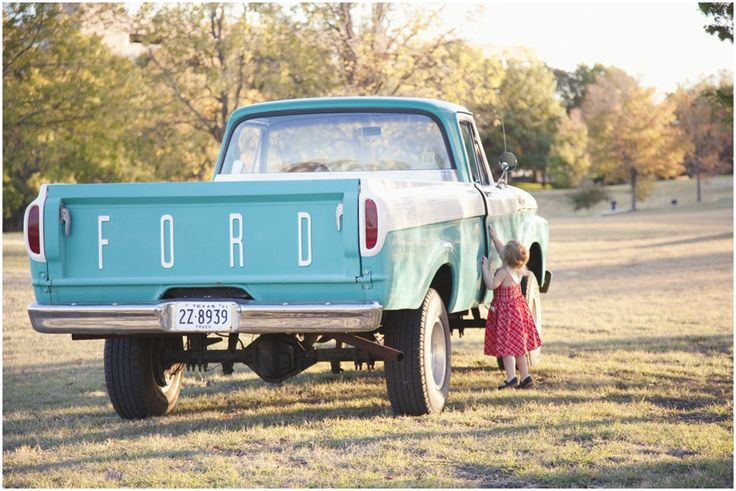 old blue #Ford