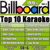 Billboard Top 10 Karaoke: 1970's, Vol. 3 [CD], 1973