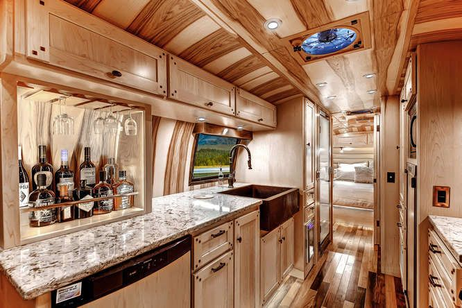 1956 Whale Tail Custom Airstream By Timeless Travel Trailers In Colorado Motorhomes Trailers