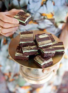 Schoko-Minz-Brownies