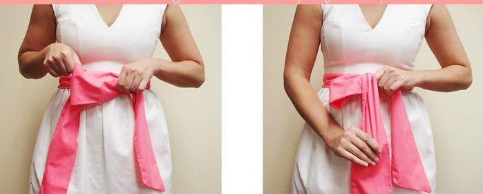 Как завязывать бант на платье: фото и видео. Женский интернет-журнал Delafe.ru
