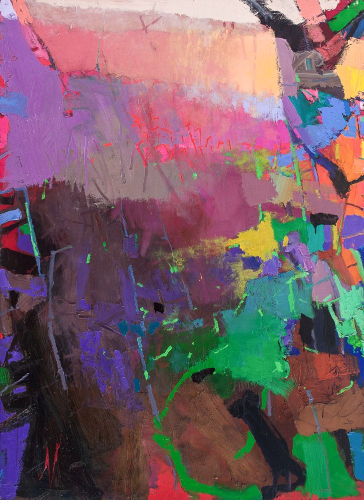Brian Rutenberg Art: Paintings and Works on Paper