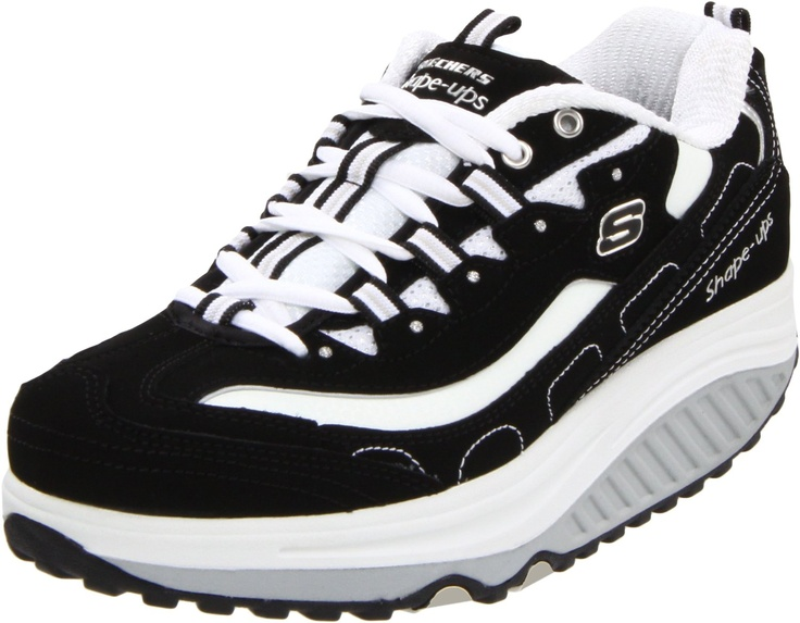 Amazon.com: Skechers Women's Shape Ups - Strength Wide Fitness Work Out Sneaker: Shoes