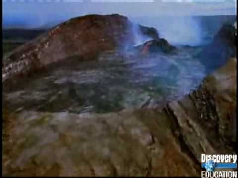 When Earth Erupts-Shield Volcanoes - YouTube