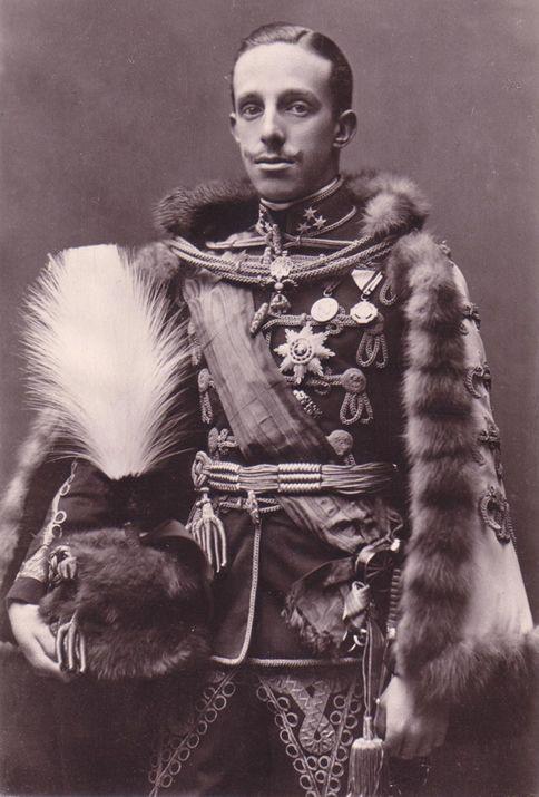 Alfonso XIII de Borbón, el Africano (1886-1941; r. 1886-1931)