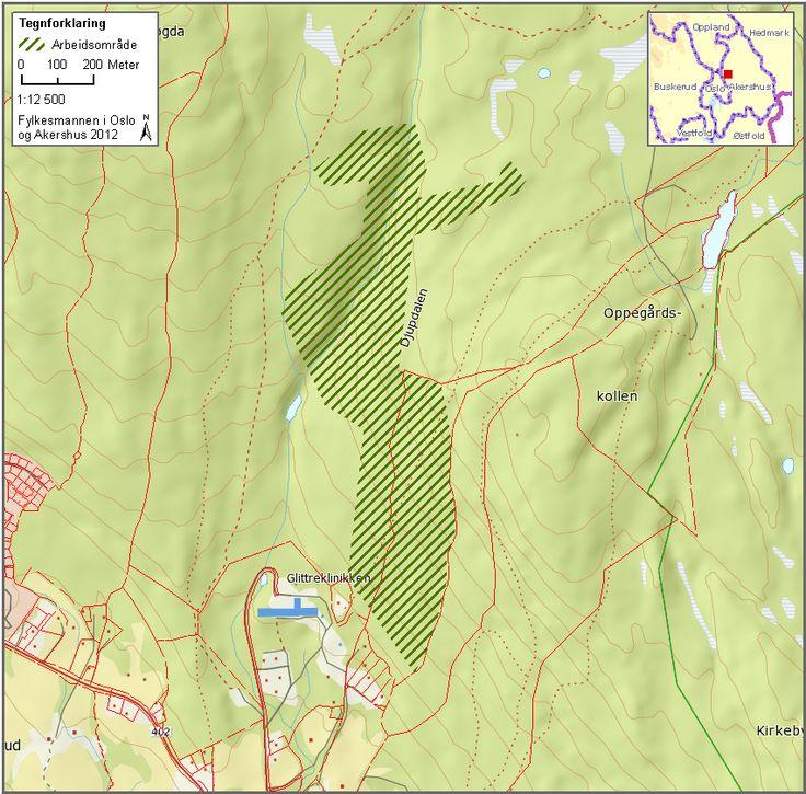 Fylkesmannen - fredede turområder