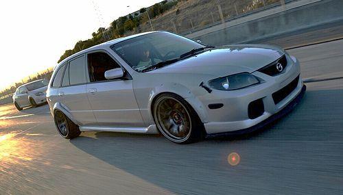 Custom+Mazda+Protege+5   Thread: The Slammed Life