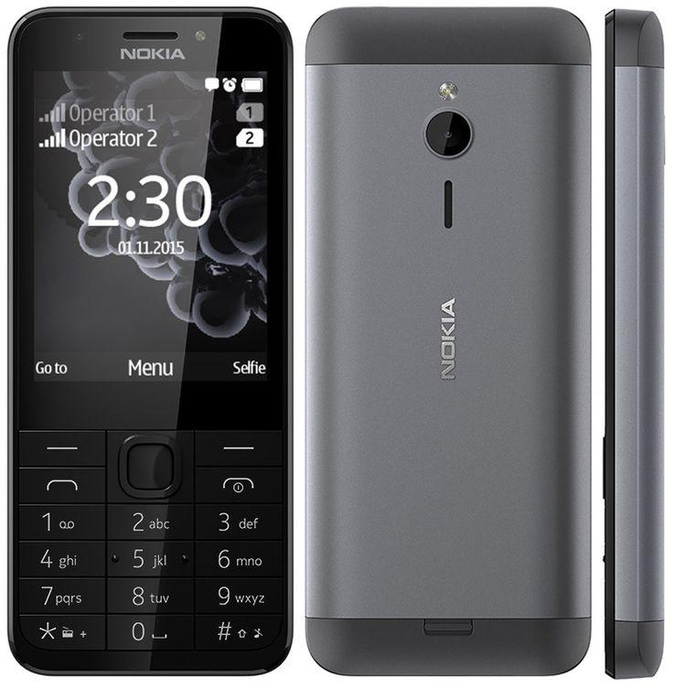 """Cumpără acum telefonul Nokia 230 Dual SIM Dark Silver la numai 259 lei sau de la 1 leu împreună cu abonamentele Telekom! Foarte elegant și subțire, cu carcasa din spate din aluminiu, Nokia 230 dispune de un display 2.8"""" și două camere foto - cea din față de 2MP cu blitz fiind perfectă pentru cele mai tari selfie-uri alături de prieteni, chiar și pe timp de noapte! Vei găsi rapid informații utile și poți accessa site-urile preferate cu browser-ul Opera Mini, Bing Search și MSN Meteo!"""