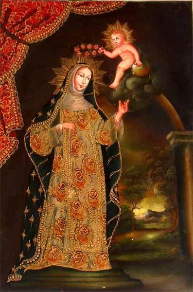 Coronation of Saint Rose of Lima