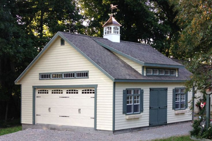 25 best ideas about two car garage on pinterest above for Double garage with loft