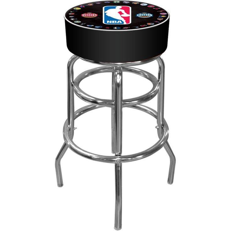 Trademark Games NBA League Padded Bar Stool, Team