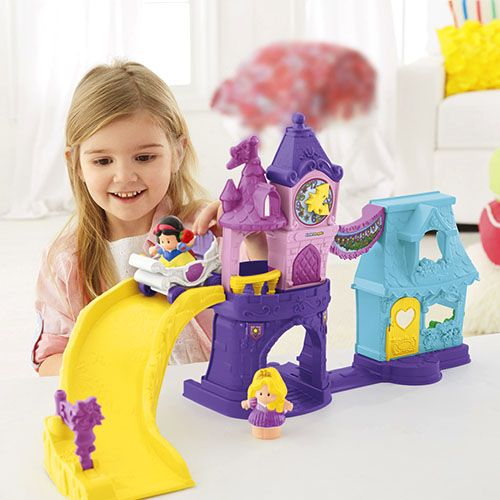 Toddler Toys People : Little people disney princess town square fisher price