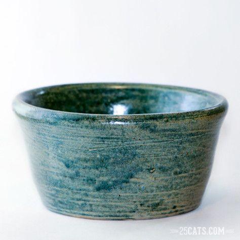 Antique blue bowl