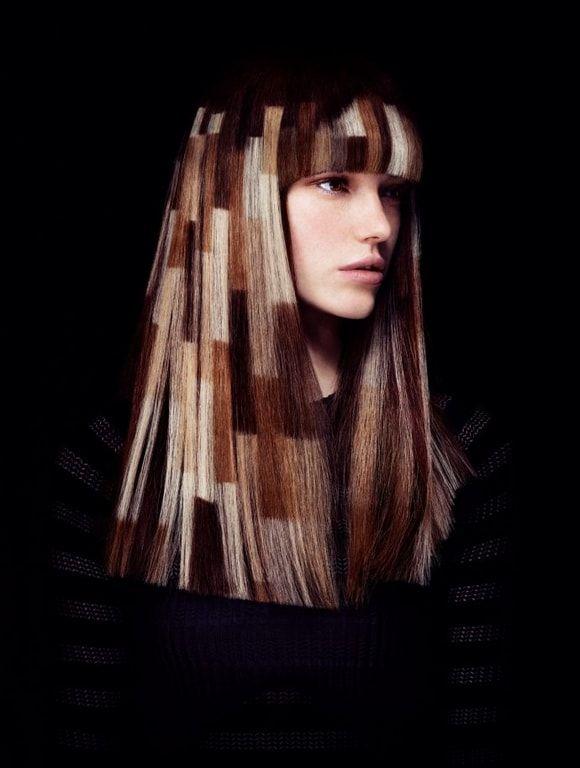 Анжело Семинара. Коллекция окрашиваний волос 2016 года для Davines.