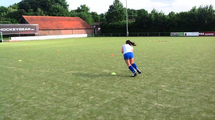 Conditie oefening 1 met bal en stick