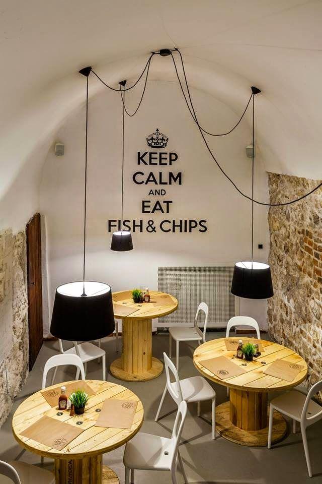 Zoom na wnętrze - restauracja The Dorsz w Krakowie