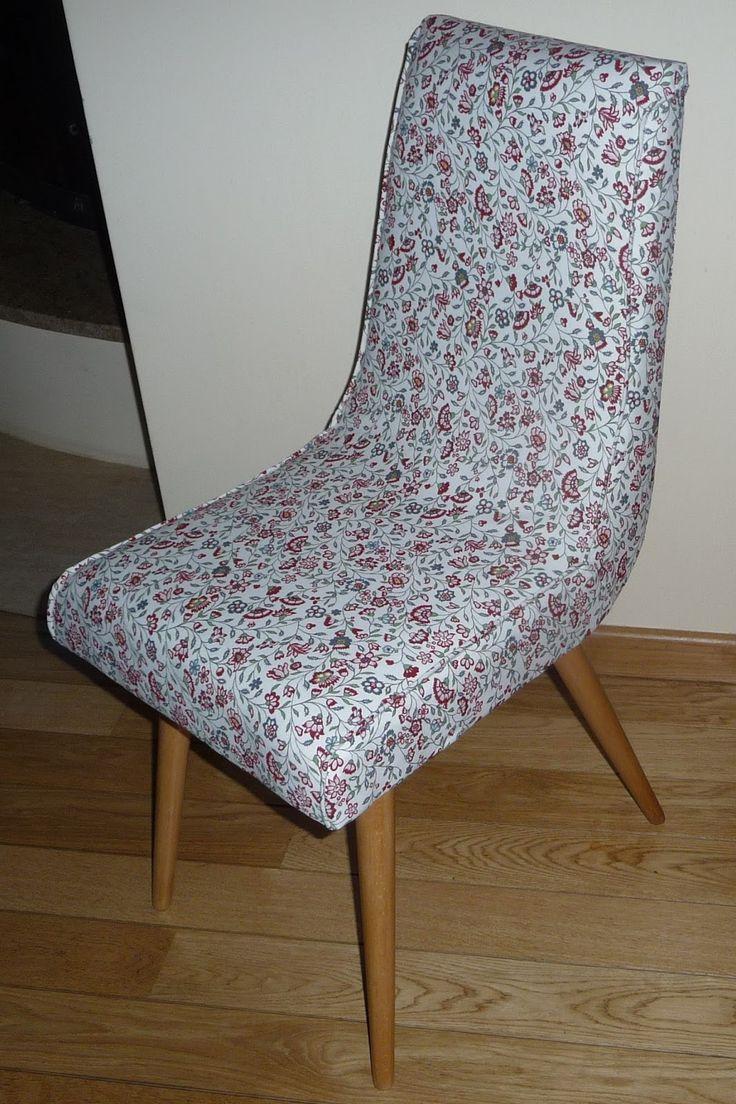 Ręko-czyny: Metamorfoza krzesła z PRL typu patyczak