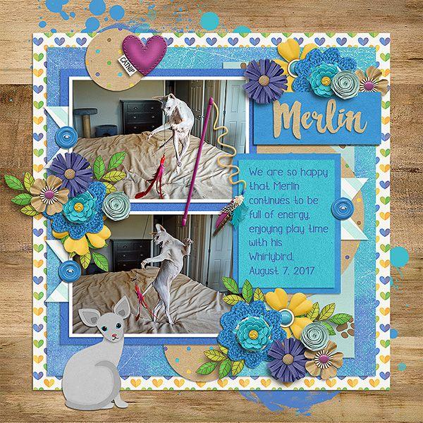 Kit - My Pet Cat Bundle by Clever Monkey Graphics  http://store.gingerscraps.net/My-Pet-Cat-Bundle-by-Clever-Monkey-Graphics.html    Template - Favorite minutes 5.- Tinci Designs  http://store.gingerscraps.net/Favorite-minutes-5..html