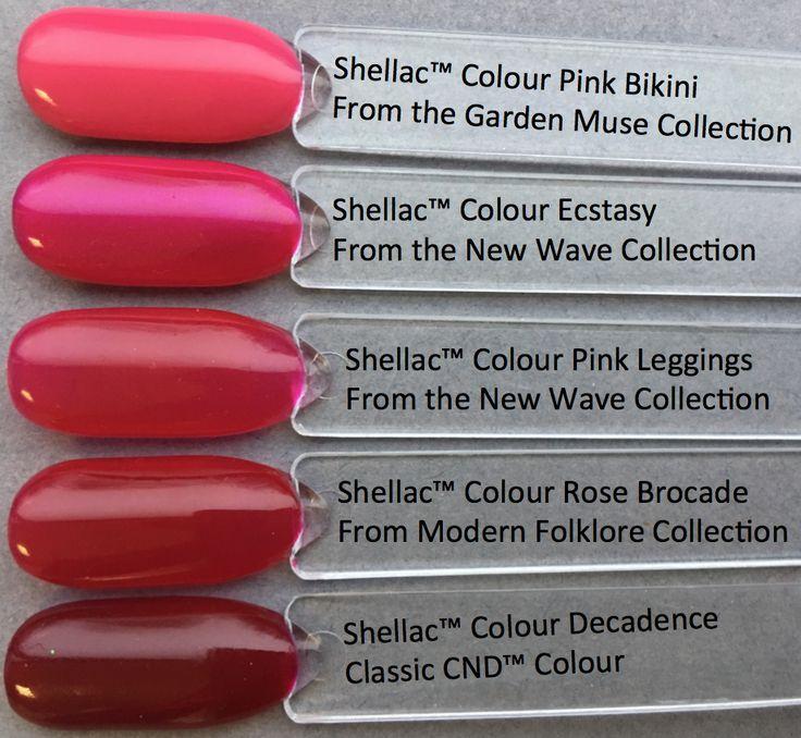 CND Shellac - Pinks