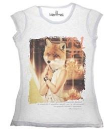 T-shirt Maniche Corte Volpe Manymal