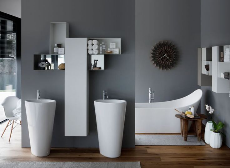 Relax after a long week in your @LaufenBathrooms as it oozes style and serenity.