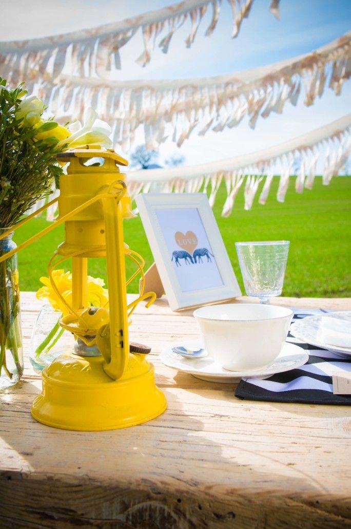C mo decorar una mesa r stica eventos fiestas y mesas - Como decorar una bodega rustica ...