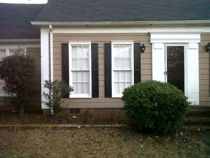 Diy exterior house shutters