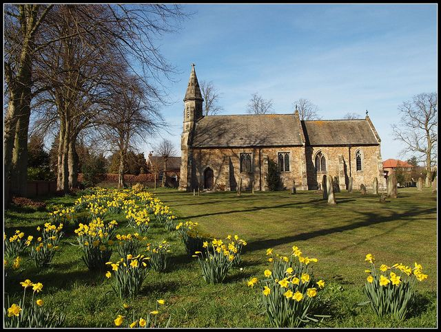St Botolphs Church, Allerthorpe, Yorkshire Wolds, England: Photo Shared
