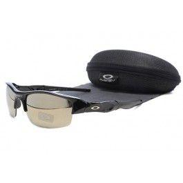 Óculos de sol Oakley Flak Jacket Preto Cinza Lente Quadro