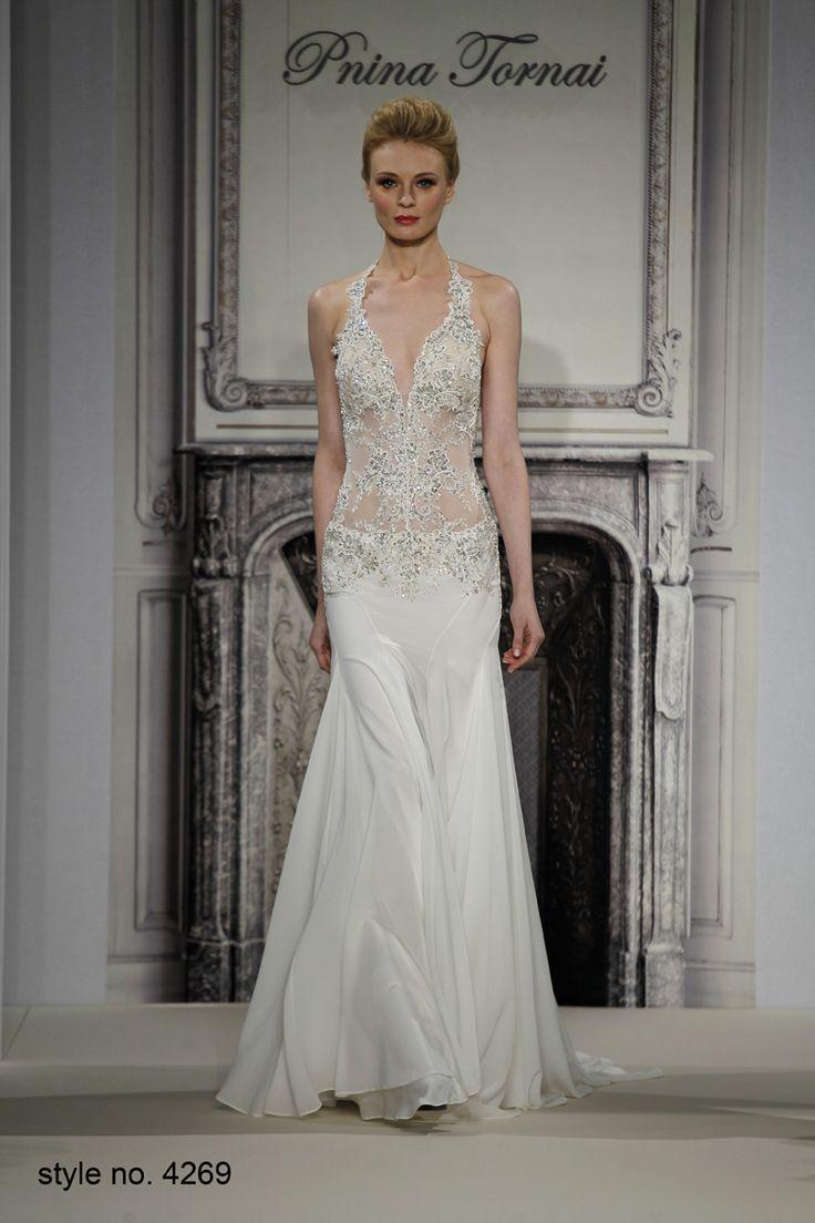 17 best ideas about pnina tornai wedding dresses on for Used pnina tornai wedding dress