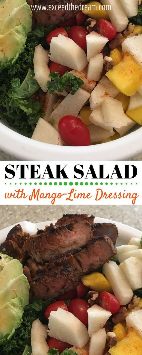 This recipe is from the Core de Force Eating Plan that I have been following! Worried about mangoes, lime, avocados and beef in one plate? You'll be surprised how the combination of contrasts made this recipe even more flavorful and delicious!