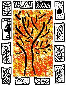 ARTS VISUELS - automne à la façon de Pierre Alechinsky