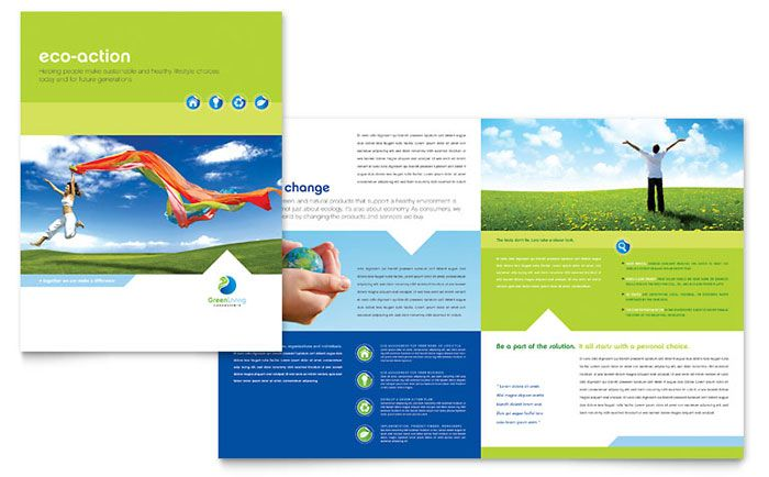 Church Youth Ministry Brochure Design Template by StockLayouts - religious brochure