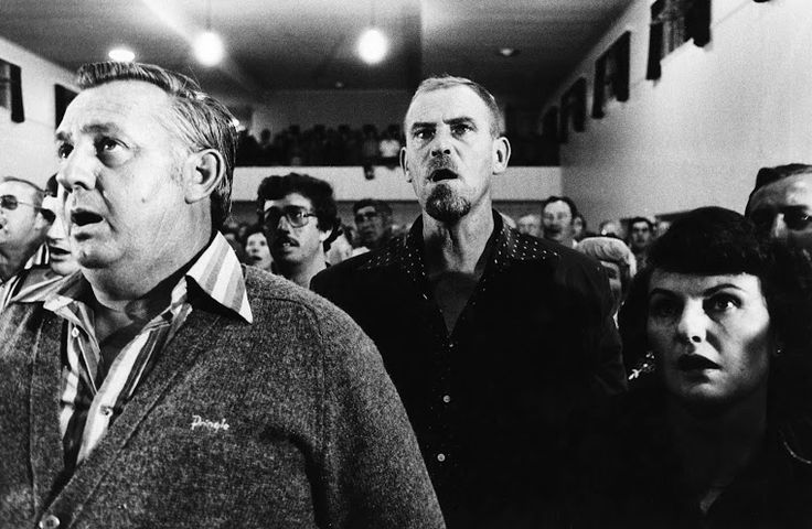 Paul Weinberg. Conservative party member Andries P. Treurnicht addresses supporters in Nylstrooom, stronge hold of the Afrikaner far right, 1983