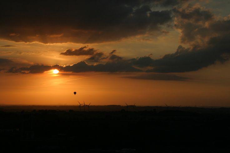 Hot Air Balloon Ride, South Limburg, Netherlands