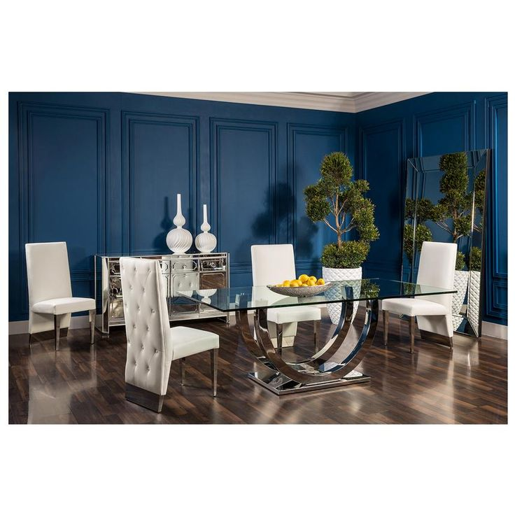 The Ulysis Rectangular Dining Table Set Is A Modern Masterpiece For Your Room Flat